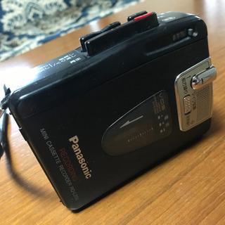パナソニック カセットレコーダー
