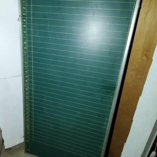 黒板 月行事予定表 横幅180センチ 縦幅90センチ 事務 店舗