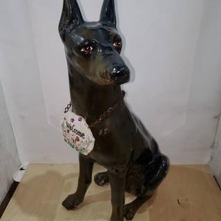犬 置物 オブジェ 庭 ガーデニング