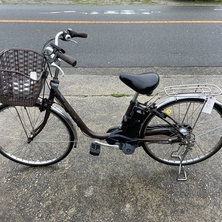 Panasonic 8.9AH電動アシスト自転車W26