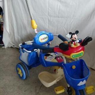 ワンコイン ミッキーの三輪車