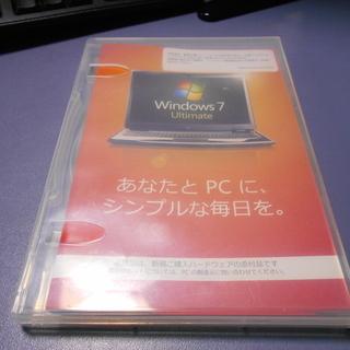 Windows7 Ultimate 32Bit