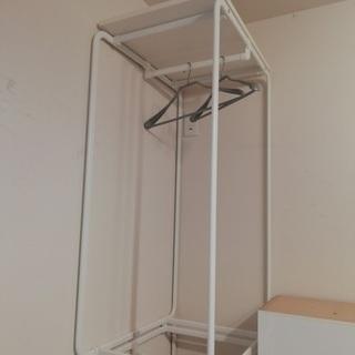 IKEA ALGOT イケア アルゴートフレームロッド付 ハンガ...