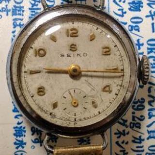 SEIKOのアンティーク腕時計 ジャンクで