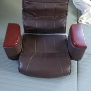 リクライニングチェアー(座椅子)値下げします