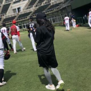 ⚾未経験可!野球マネージャー募集!(´ε` )