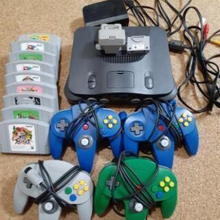 【取引中】Nintendo64本体一式+カセット9本セット