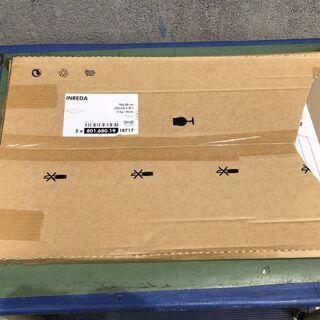 ★未使用★ IKEA INREDA 追加棚板 56x36cm ガ...