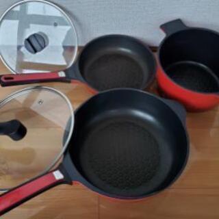 【購入者決定!】フライパン、鍋セット
