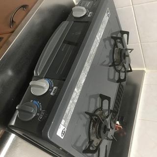 値下げ!! リンナイ LPガス用 ガステーブル 右側強火力の画像