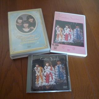 キャンディーズ DVD3種