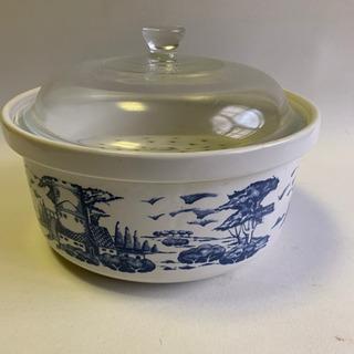 値下げ レンジ用陶器鍋(キャセイロール)