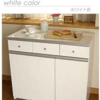 【値下げ】ダストボックス フタ付き 分別 カウンターキッチン キ...