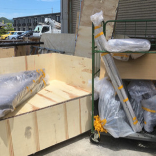 6月24日 フィットネスマシンの組立て 運搬補助作業