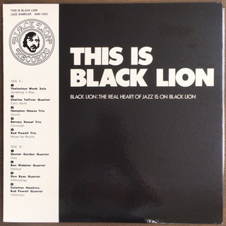THIS IS BLACK LION LP レコード