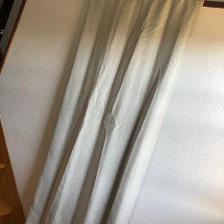 ニトリ 遮光遮熱カーテン ベージュ 2枚