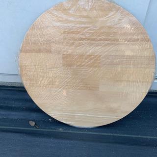 【DIY用木材】テーブル用パイン材  φ440×20