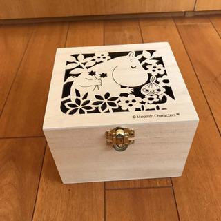 ムーミン 木箱