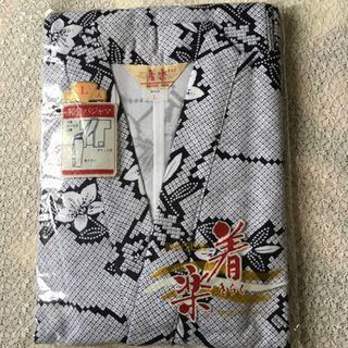 ゆったり快適【新品】日本製 作務衣 和装パジャマ 着楽