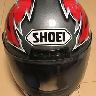 SHOEI RFDⅡ ヘルメット 赤 黑 銀 廃盤