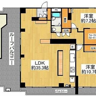 115㎡南東向き11階家具家電付短期長期賃貸いずみハイツ竹ノ塚