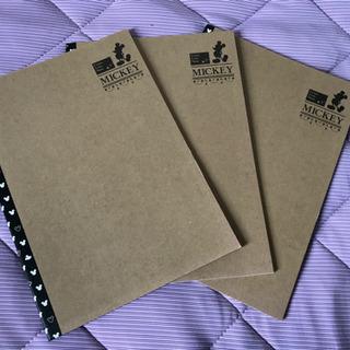 B5ノート ミッキーとプーさん3冊づつ