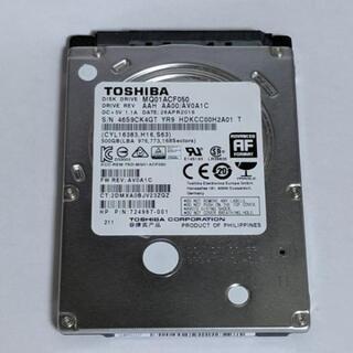 【正常】HDD 500GB 東芝 TOSHIBA 2.5インチ ...