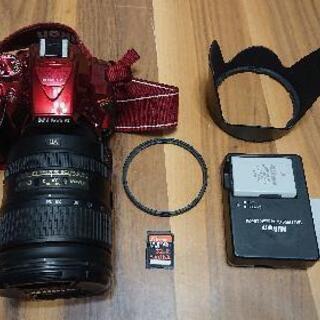 美品!NikonD5300とNikon純正レンズ28-300㎜ ...