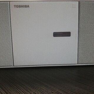 Toshiba CDラジオTY-C250..2017年製