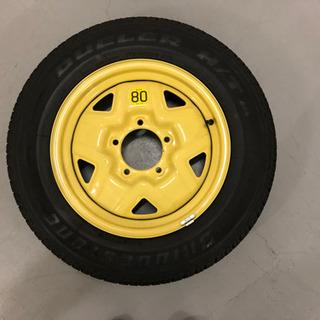 ジムニーJB23 スペアタイヤ 未使用