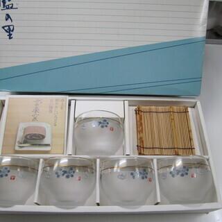 ☆彡 冷茶セット 箱入り 5個セット 京都 清水焼 雲楽窯 新品 ☆彡