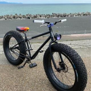 夏こそ ファットバイク 極太タイヤ
