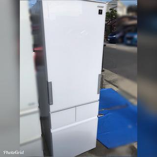 超お薦め品‼️美品‼早い者勝ち‼️️シャープ4ドア冷蔵庫415L...