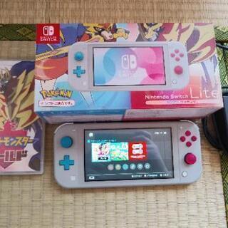 Nintendo Switch Lite[ザシアン・ザマゼンタ]...
