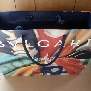 ブルガリ/BVLGARI Foulard ショップ袋