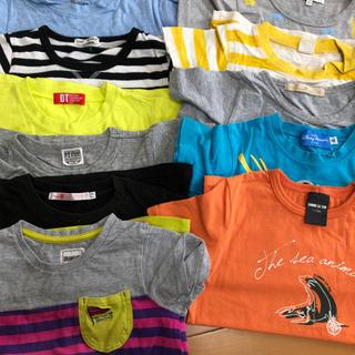 子供服Tシャツサイズ110 コムサ グローバルワーク