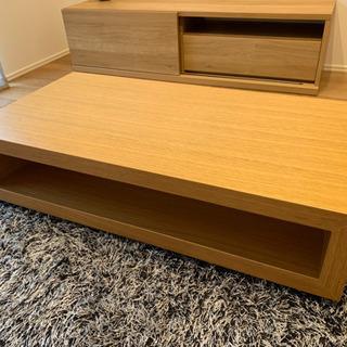 【展示品】 FUJIEI(藤栄)製 リビングテーブル ローテーブル