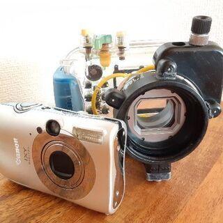【Canon/INON】水中仕様カメラ・レンズセット