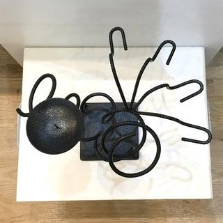 キャンドルスタンド アンティーク調 インテリア アート ろうそく立て アイアン製 飾り ブラック  − 福井県