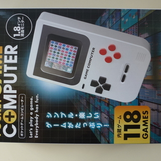 ポケットゲームコンピューター 118GAMES内蔵 【新品・未開封】