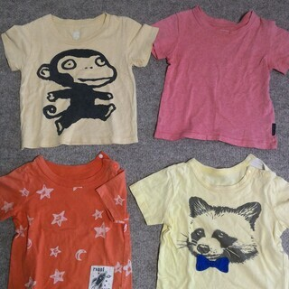 【サイズ80・90】 Tシャツ 12枚セット
