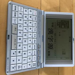電子辞書 SEIKO SR-T6500 − 東京都