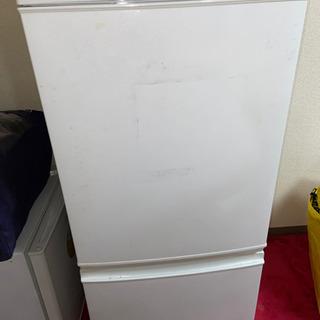 SHARP ツードア冷蔵庫