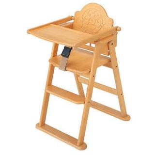 人気‼︎アンパンマン木製ハイチェアー