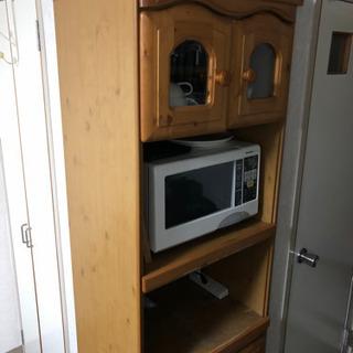 《譲ります》レンジラック 炊飯器 収納家具 収納 食器棚 引き出し可能
