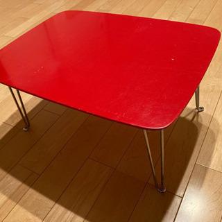 小型の折り畳みテーブル