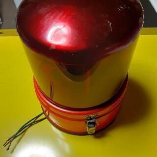 小糸工業SB回転灯 赤色 ジャンク