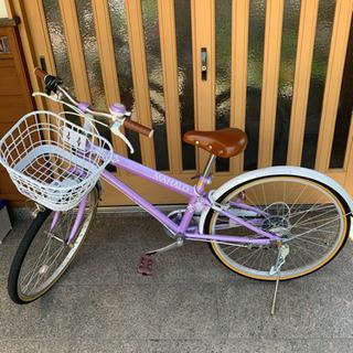 24インチ女児用自転車2018年製