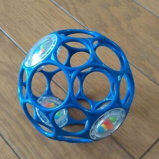 オーボールラトル 10cm ブルー