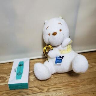 クマのプーさん ぬいぐるみ(白) クマプー